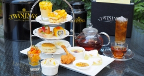 TWININGS Mango Afternoon Tea Set