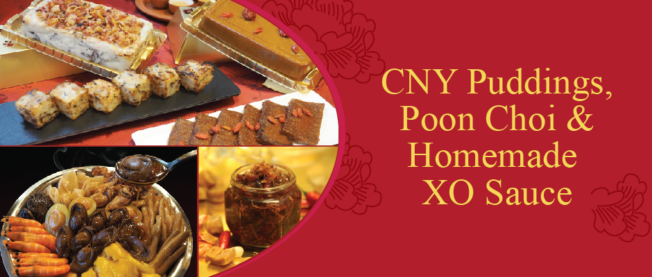 CNY Poon Choi and puddings