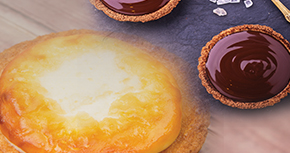 Cream/Chocolate Cheese Tart