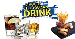 2-Hours All-You-Can-Drink