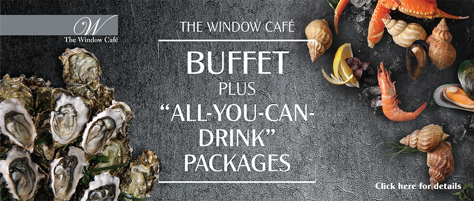 Buffet plus All You Can Drink Packages